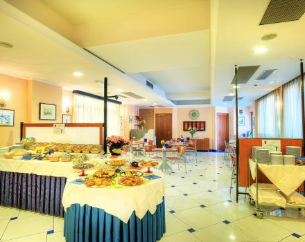 Best Western Blu Hotel Roma breakfast room